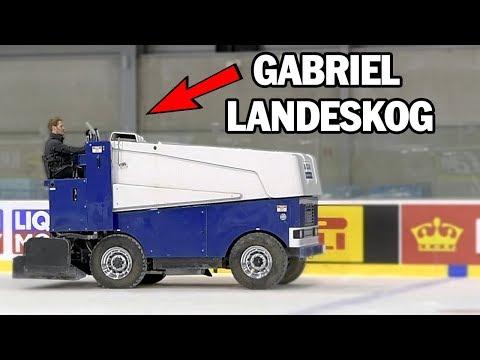 Klarar ett NHL-proffs av att köra ismaskin?