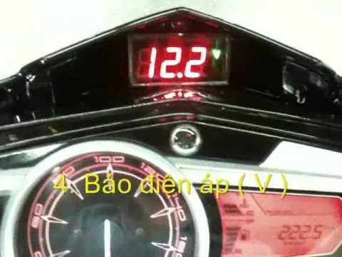 Đồng hồ LED 6in1  Nouvo LX, Nouvo SX   Hupa
