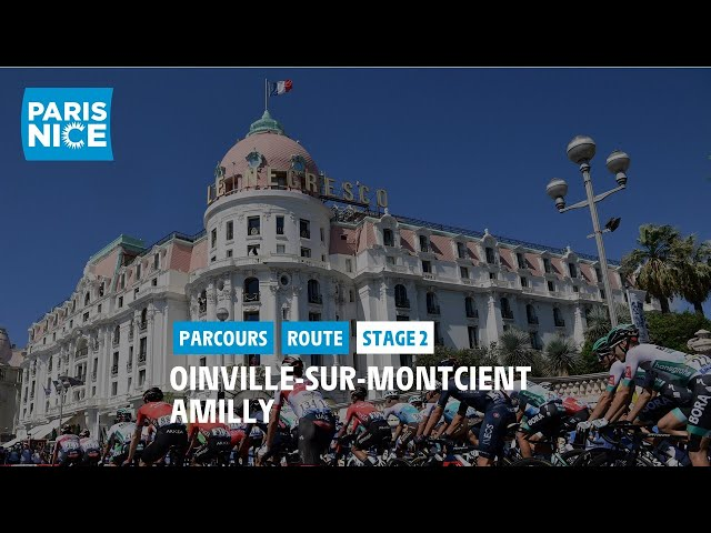 Paris-Nice 2021 - Découvrez l'étape 2