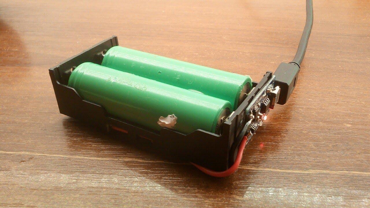 Собираем зарядку литий-ионных аккумуляторов 18650 своими руками. Реальная экономия