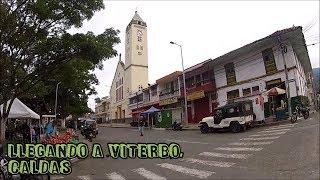 18 Llegando a Viterbo -  Caldas. Tour en moto por Colombia.