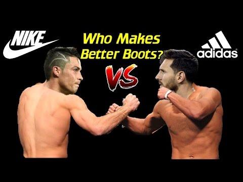 Sont Nike Ou À Crampons De Football Adidas Mieux