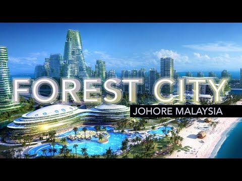 Forest City Project - Johore Malaysia