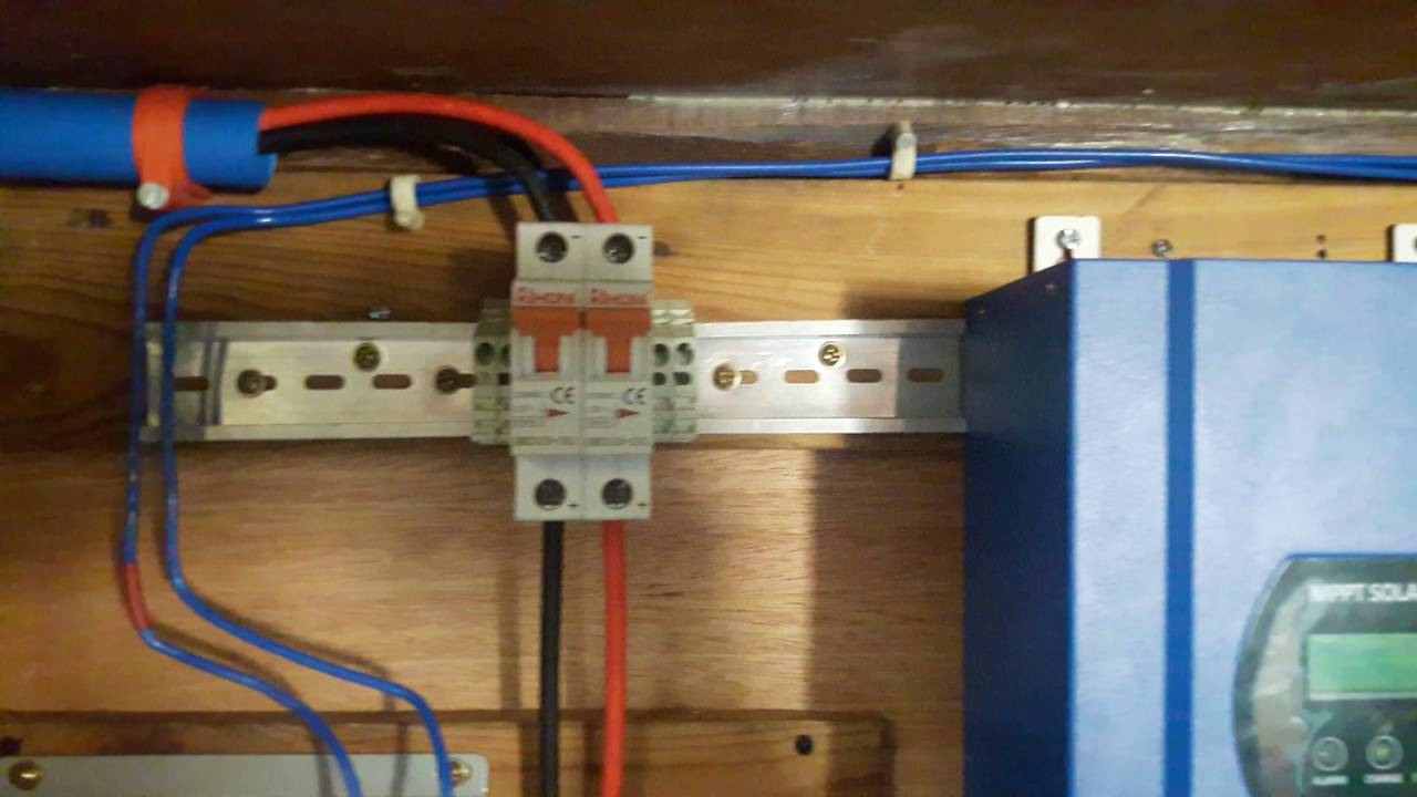 Kwp Offgrid Solar PV System Using Tomzn A Automatic - Wiring a grid switch