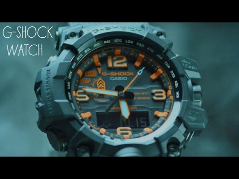 All about g shock watches youtube for Watches g shock