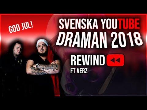 SVENSKA YOUTUBE DRAMAN 2018 [REWIND]