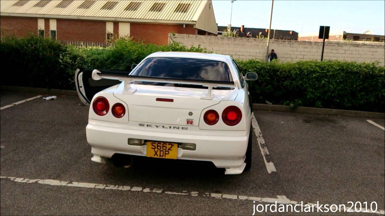 Nissan Skyline R34 GT-T - Walkaround, Start-Up ...