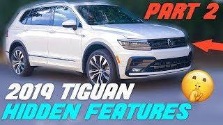 2019 Volkswagen Tiguan - Top 5 Hidden Features - PART 2
