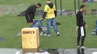 Zack Height Crossfit Regionals Dead Lift  Box Jumps  21 15 9