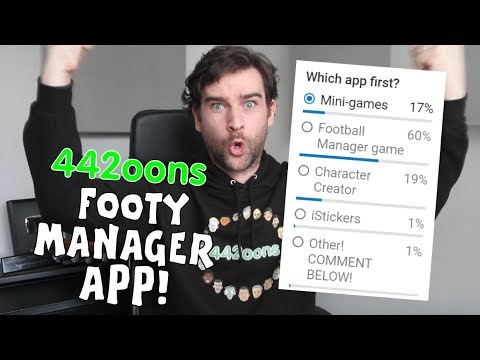 📱442oons Football Manager App! YOUR COMMENTARY NEEDED!📱