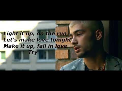 ZAYN - Dusk Till Dawn ft. Sia :(Lyrics Video Cover by SEBΛZTI)