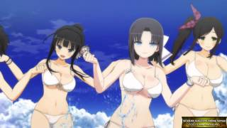 SENRAN KAGURA ESTIVAL VERSUS OPENING MUSIC VIDEO (SUMMER SONG)