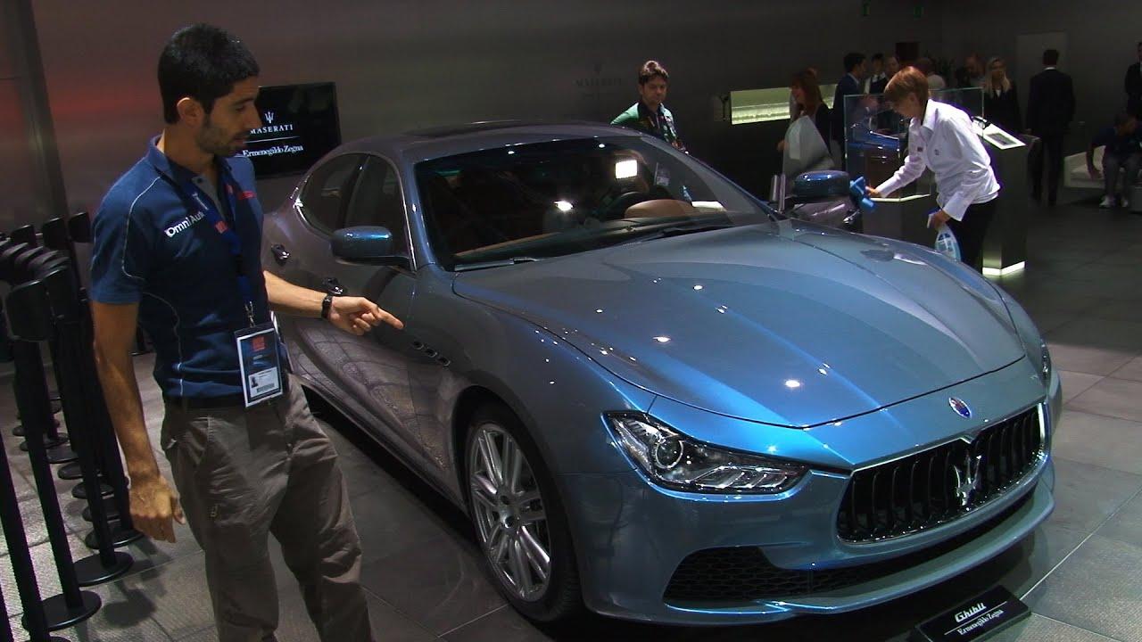 Maserati Ghibli Ermenegildo Zegna Edition Concept al Salone di ...