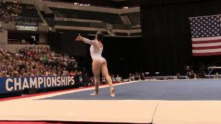 Aly Raisman – Floor Exercise – 2015 P&G Championships – Sr. Women Day 1