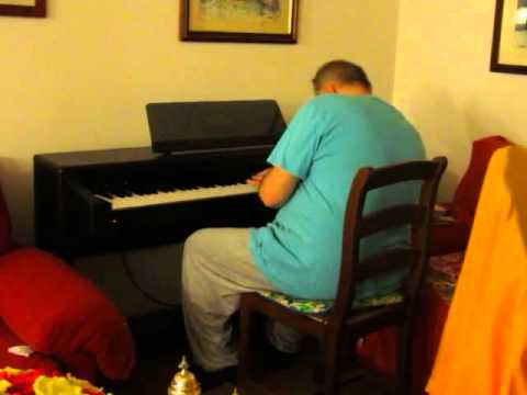 A Dur Piano Improvisation inspired to Organ Sonata 3 by Mend
