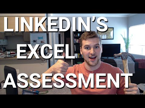 Can We Pass LinkedIn's Excel Assessment?!