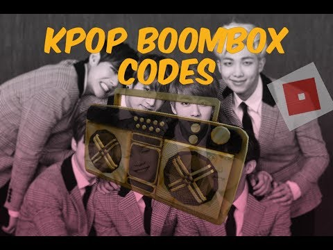 BOOMBOX CODES OF KPOP SONGS