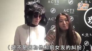 Hwangbo talks about Hyun Joong 2016/02/03 in Hongkong