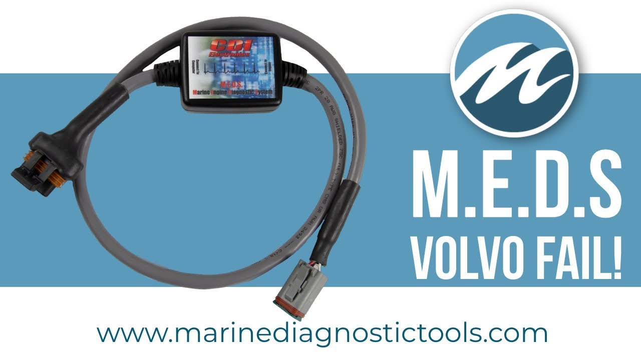 MEDS Marine Diagnostics - CAN Bus Gas Engines