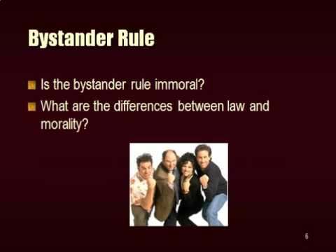Statutes vs Common Law and attorneys obligations