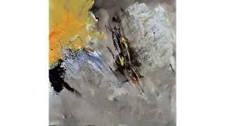 Peintures abstraites sur toile