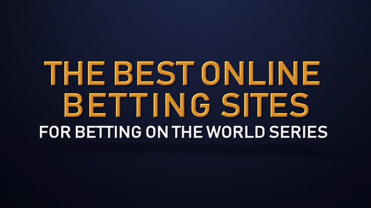 Online world series betting betvictor mobile free betting