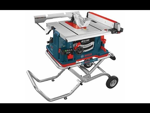 Bosch Reaxx Tablesaw - Power Problem Discovered