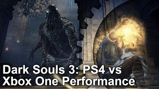 Dark Souls 3 PS4 vs Xbox One Gameplay Frame-Rate Test