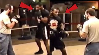 Mike Tyson hitting the pads at 19 is one of the scariest things you'll ever see.