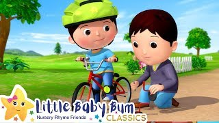 Learn How To Ride A Bike Song | Nursery Rhyme & Kids Song - ABCs and 123s | Little Baby Bum