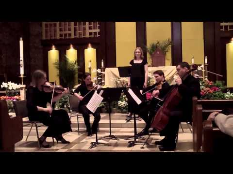 Dover Beach for string quartet and middle voice -  Samuel Barber