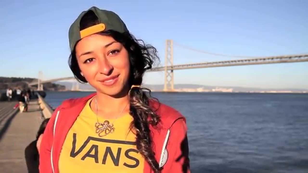Lizzie Armanto X Penny Skateboards in San Francisco