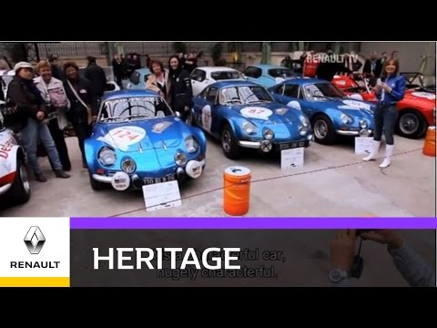Renault Icons - The Alpine A110