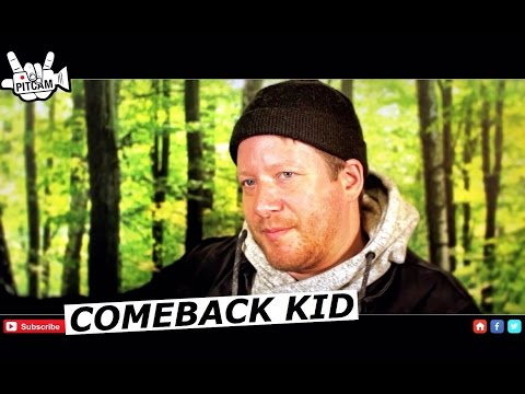 COMEBACK KID interview with Andrew Neufeld   www.pitcam.tv