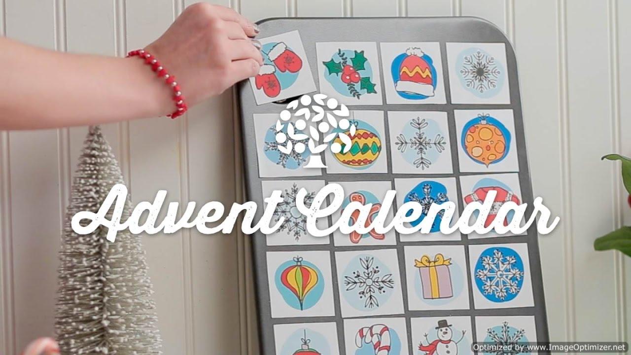 Diy advent calendar youtube diy advent calendar solutioingenieria Choice Image