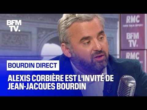 Alexis Corbière Face à Jean-Jacques Bourdin En Direct