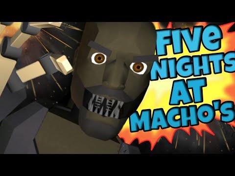 Five Nights at Macho's - VAI COOOME!