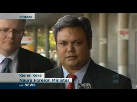 Nauru offers to negotiate asylum deal