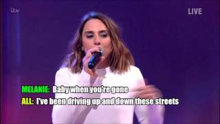 Melanie C was appearing on Ant and Dec's Saturday Night Takeaway as...
