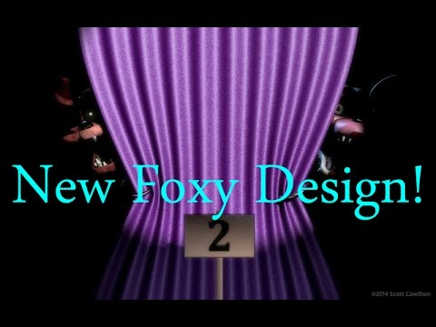 New Foxy Design!-Five Nights At Freddy's 2:The Sequel New Leak!
