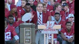 Alabama National Championship Celebration 1/20/18