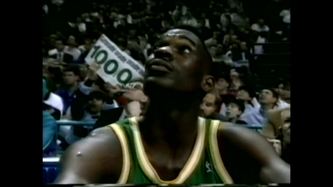 Shawn Kemp 1991 Slam Dunk Contest