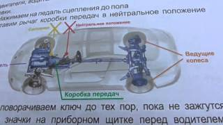 Первый урок автовождения на механике с автоинструктором.