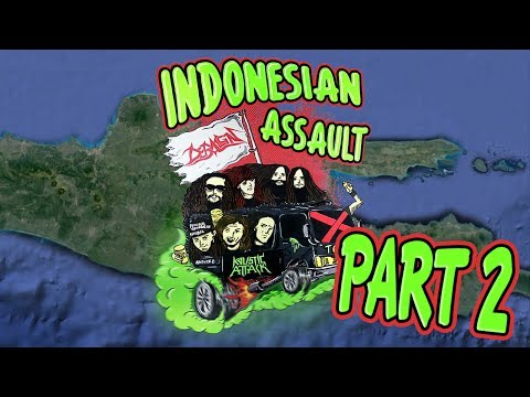Deraign & Kaustic Attack Indonesian Assault Tour (Part 2/2)