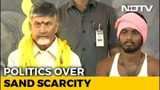 Chandrababu Naidu Demands Free Sand Policy, Sits For 12-Hour Fast