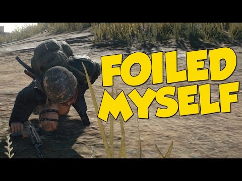 FOILED MYSELF! - PlayerUnknown's Battlegrounds Funny Moments + Giveaway