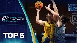 Top 5 Plays | Tuesday - Gameday 7 | Basketball Champions League 2019-20