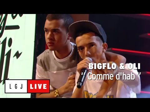 Bigflo & Oli - Comme D'Hab (Guest : Kyan Khojandi) - Live du Grand Journal