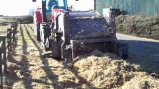 Old Straw Removal Demonstration