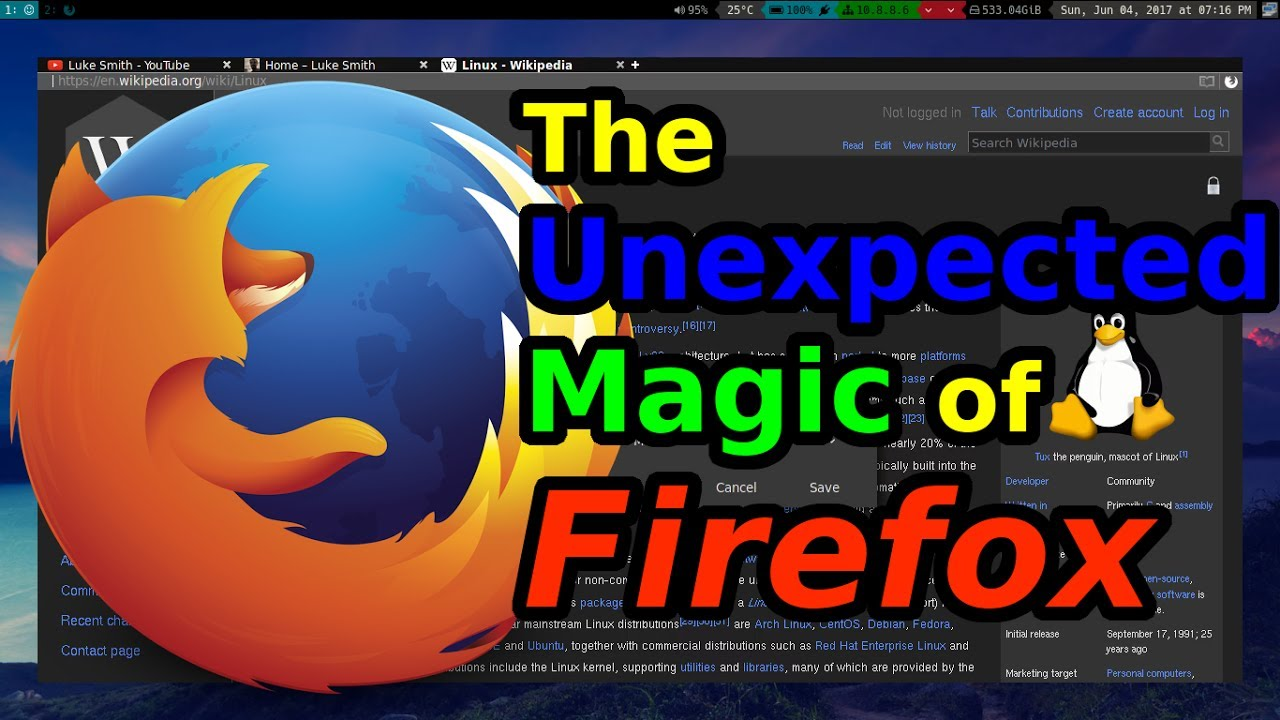 Firefox: Browser Skins, vim Shortcuts and Search Keywords!